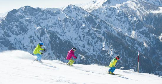 Skispaß auf der Höss