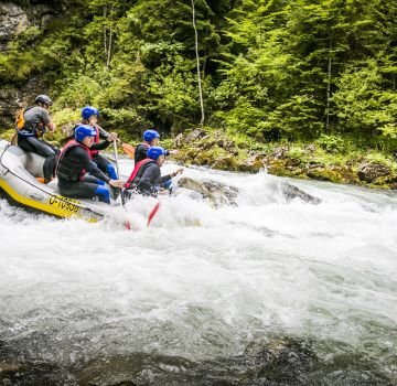 Canyoning in Hinterstoder