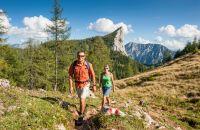 Aufstieg zur Wurzeralm in der Ferienregion Pyhrn-Priel