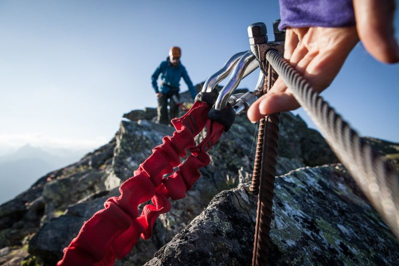Klettersteig Madrisella : Klettersteig madrisella nahe des explorer hotel montafon in vorarlberg