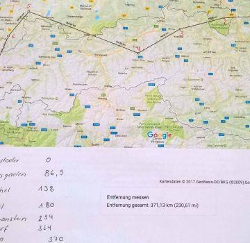 Routen Planung