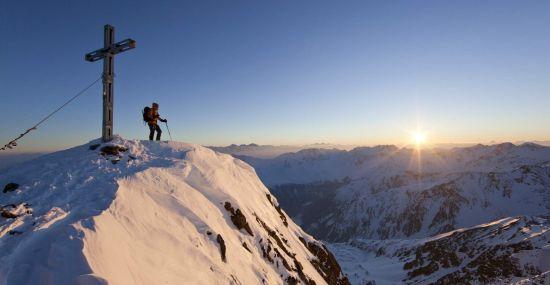 Skitour mit Sonnenaufgang in Vent