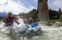 Rafting rund um das Explorer Hotel Ötztal in Umhausen