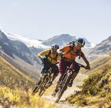 Rasante Biketouren in Sölden