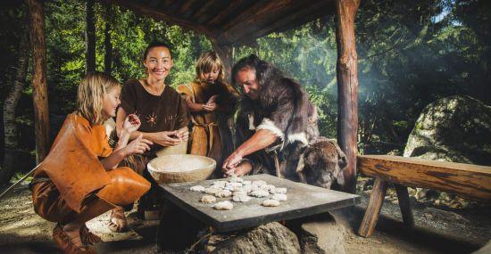 Das Ötzi Dorf - ein Erlebnis für Groß und Klein