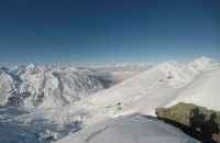 Panorama Ausblick vom Pfaffenbichl über das Zillertal