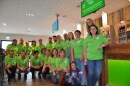 Das Team im Explorer Hotel Hinterstoder