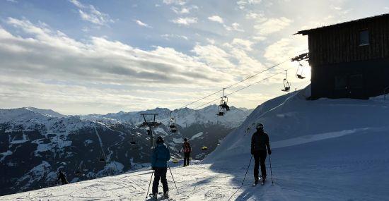 Skifahren im Hochzillertal