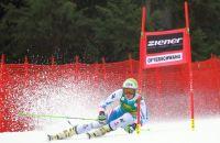 Die Ski-Athletinnen geben alles!