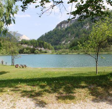 Relaxen vor toller Bergkulisse am Elisabethsee