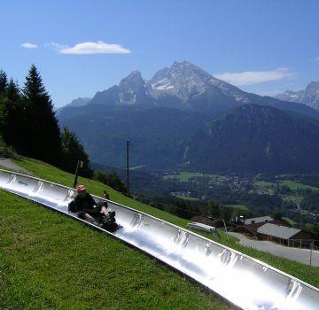 Sommerrodelbahn am Obersalzberg