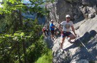 Ängste überwinden auf dem Klettersteig