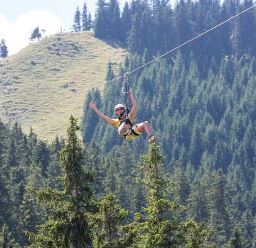 Mit hoher Geschwindigkeit auf dem AlpspitzKICK