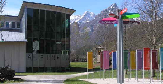 Alpineum und Rundwanderwelt-Infopoint