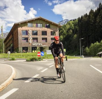 Steffen Thum beim Straßentraining