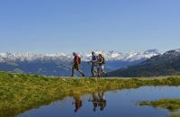 Wandern mit fantastischem Ausblick auf das Zillertal