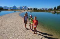 Familienausflug zum Höss-Speicherteich