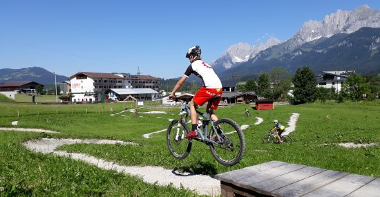 Der Skills Park in St. Johann in Tirol