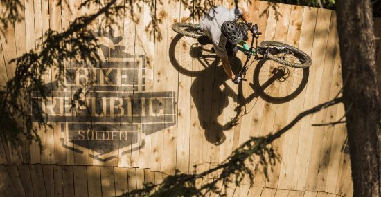 Willkommen in der Bike Republic Sölden