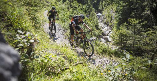 Mountainbiken in Pyhrn-Priel