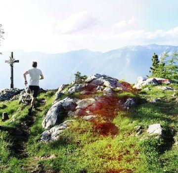 Über den Wildererweg auf den Gipfel