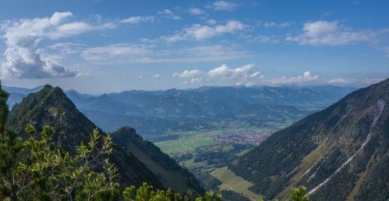 Unterwegs in den Allgäuer Alpen
