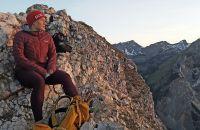 Explorer Buddy Chiara bei ihrer Sonnenaufgangstour zum Ebner Joch im Inntal