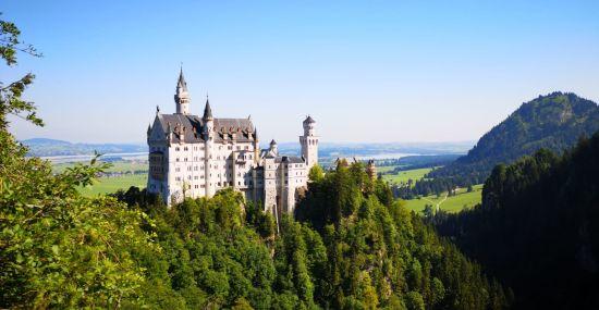 Das märchenhafte Schloss Neuschwanstein