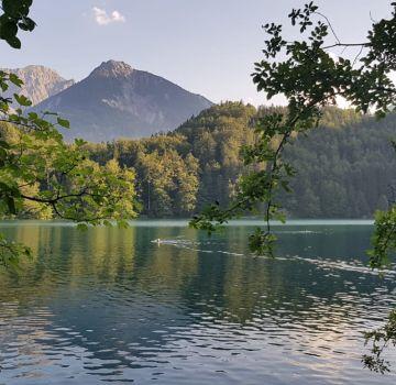 Alatsee bei Füssen im Allgäu