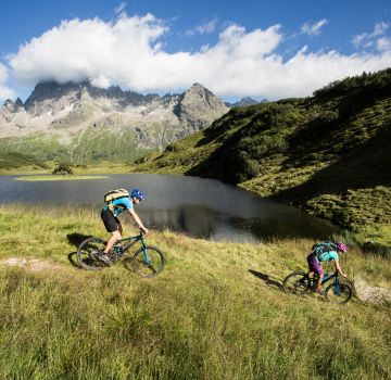 Discover beautiful mountain bike routes in Montafon