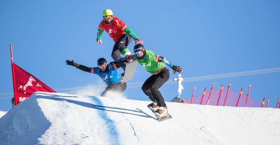 FIS Snowboard Cross Weltcup im Montafon