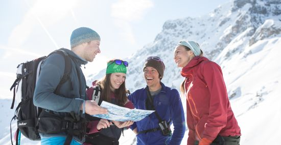 Wo soll die Skitour hingehen?