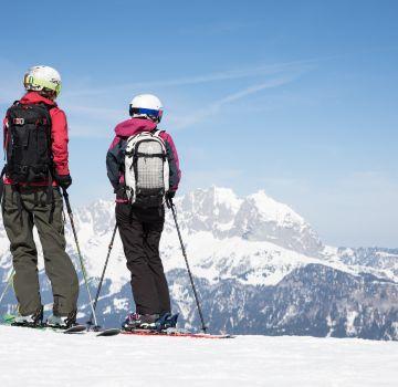 Genieße die Aussicht vom Gipfel