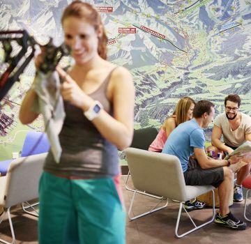Im Explorer Hotel kannst Du dein Bike für Deine nächste Tour perfekt vorbereiten.