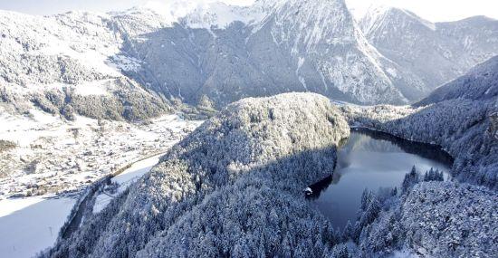 Winterlandschaft rund um den Piburger See