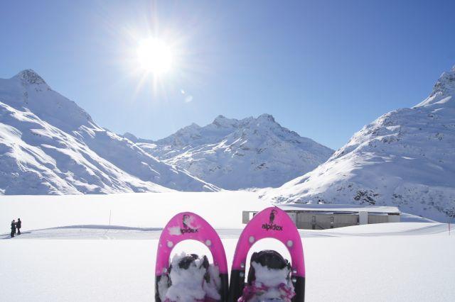Schneeschuhwandern zur Bielerhöhe