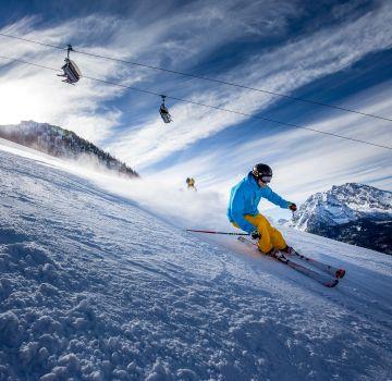 Skifahren am Jenner nahe des Explorer Hotel Berchtesgaden