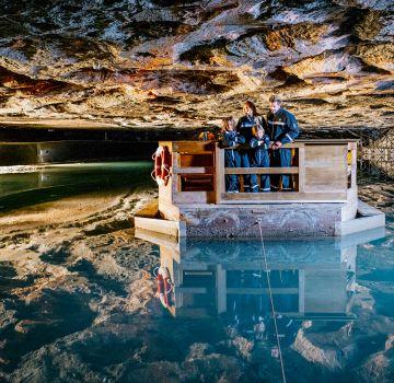 Der Spiegelsee - ein unterirdischer Salzsee