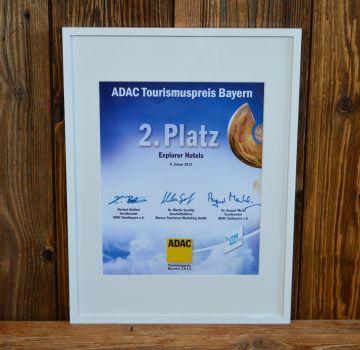 ADAC Tourismuspreis Bayern 2013