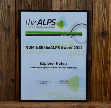 The ALPS Award 2012