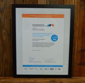 Deutscher Preis für Tourismusentwicklung 2013