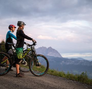 Discover beautiful mountain bike routes in Austria