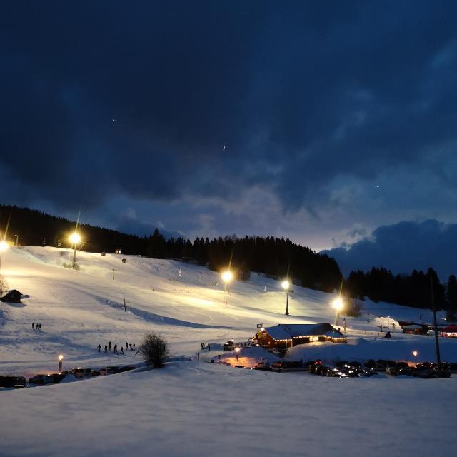 Nachtskifahren auf der Alpspitze in Nesselwang