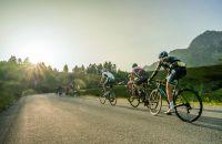 Die letzten Sonennstrahlen beim Radfahren, Fotograf: Lukas Ennemoser