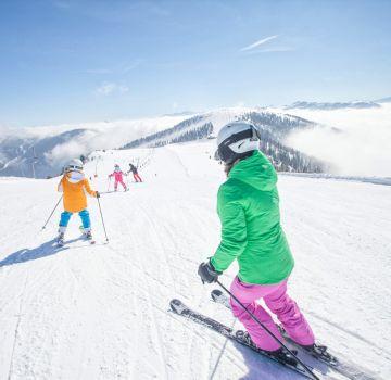 Skispaß mit der ganzen Familie
