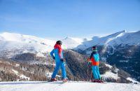 Skifahren im Biosphärenpark