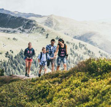 Familienwandern im Zillertal