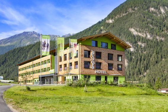 Basislager für sportliche Alpen-Entdecker