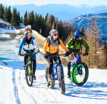 Biken im Winter? Das geht easy ;)