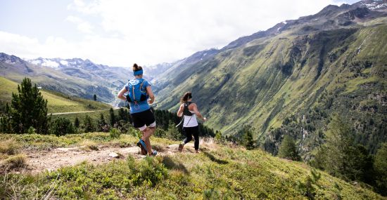 Trailrunning mit Aussicht